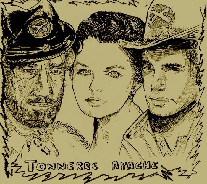 Luana Patten, George Hamilton, Richard Boone by didgiv